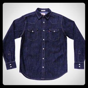 Men's Levi's Denim Western Shirt